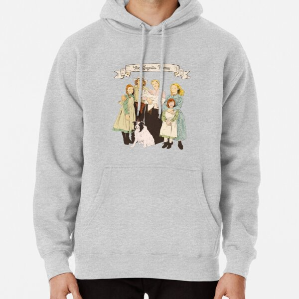 Colorful The Ingalls family in the Little house on the prairie Pullover Hoodie