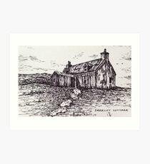 Derelict Cottage Art Print