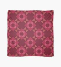 Pop Squares RED Scarf