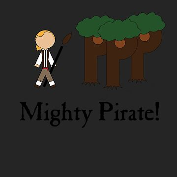 Guybrush Threepwood Mighty Pirate by SirGuyIncognito