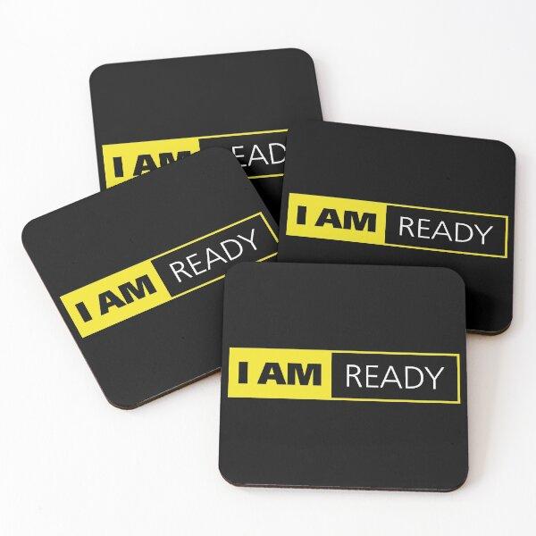 I am Ready funny Photographer Coasters (Set of 4)