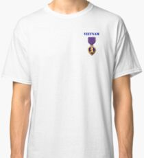 Purple Heart - Vietnam Classic T-Shirt