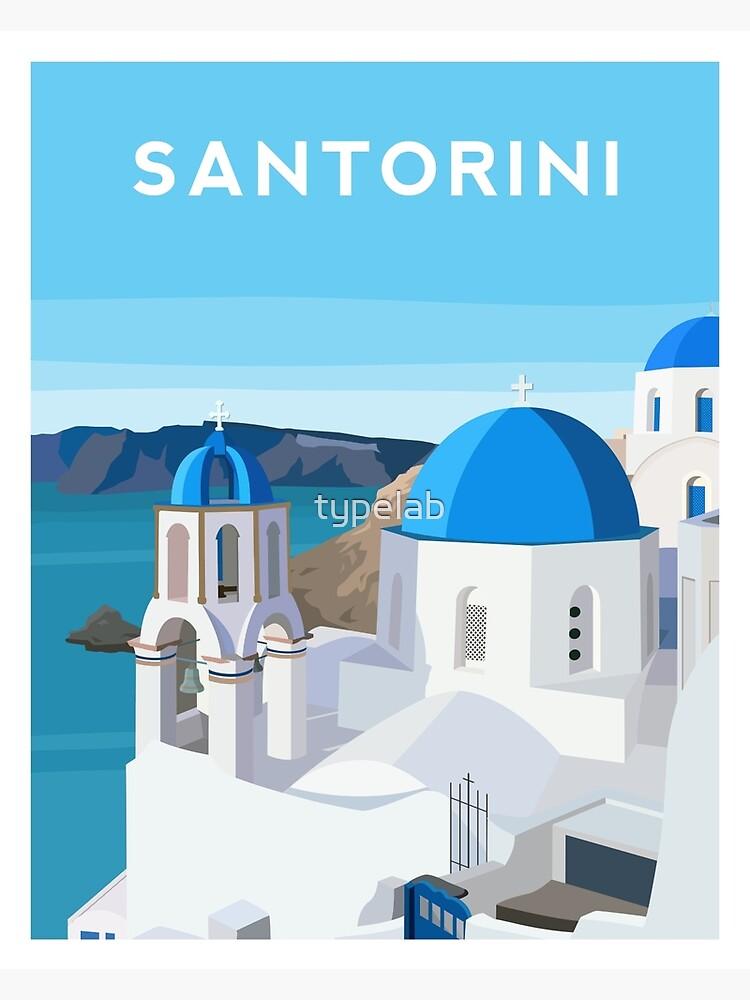 Santorini, Greece by typelab
