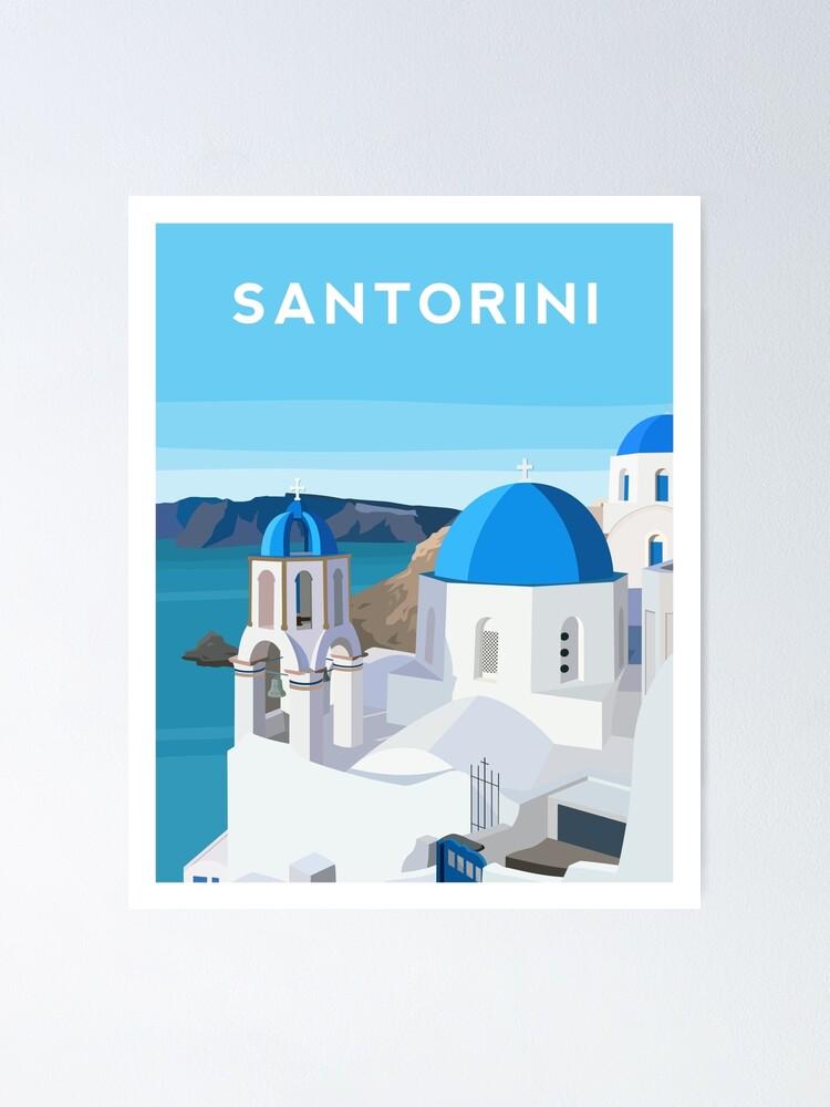 Alternate view of Santorini, Greece Poster