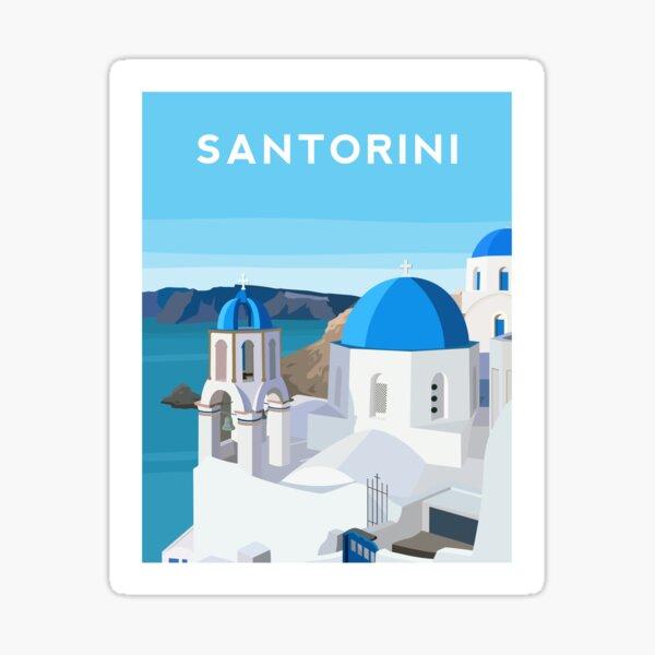 Santorini, Greece Sticker