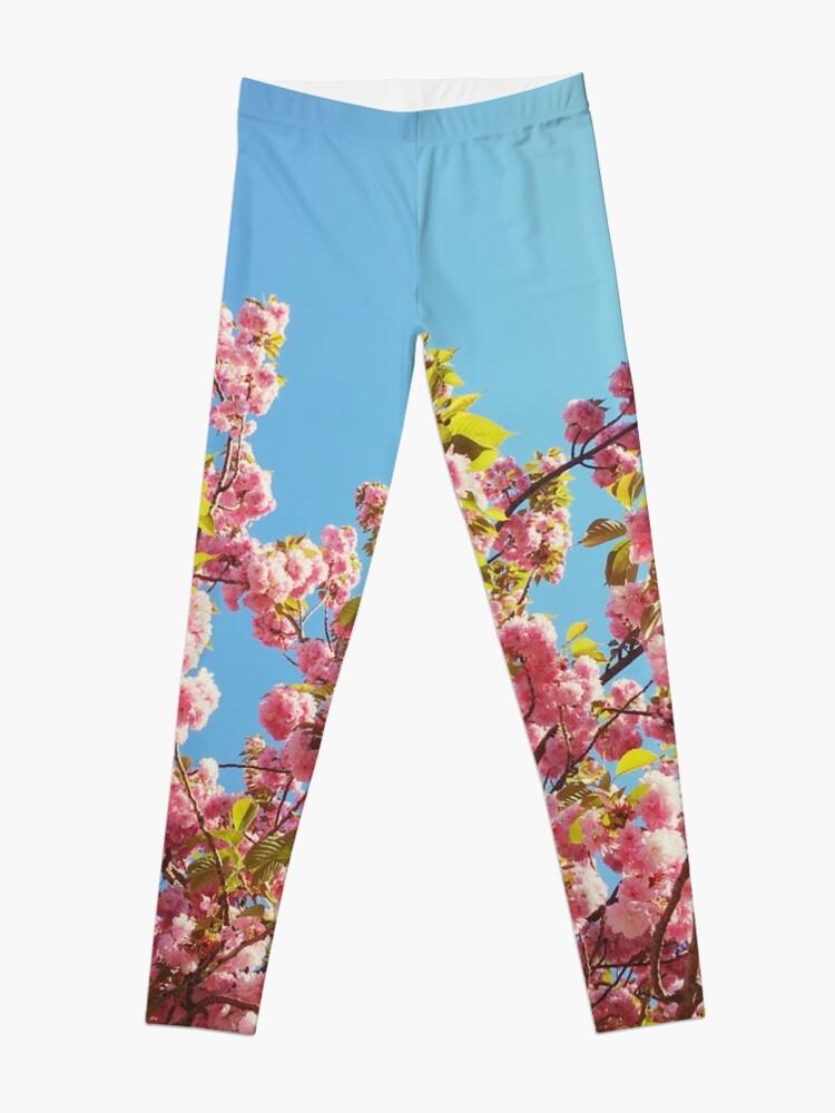 Alternate view of  Floral Gift - Cherry Blossoms Photography - Gardener Present Leggings