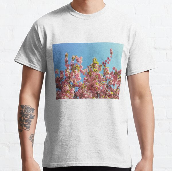 Floral Gift - Cherry Blossoms Photography - Gardener Present Classic T-Shirt