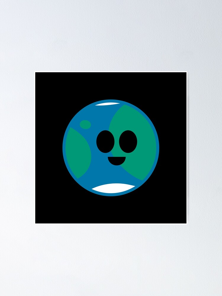 Alternate view of Happy Planet Earth Poster
