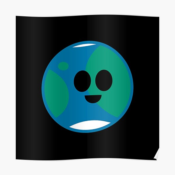 Happy Planet Earth Poster