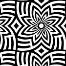 Pop Geometry Flowers by BigFatArts