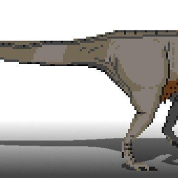 Tyrannosaurus Rex by Moppo