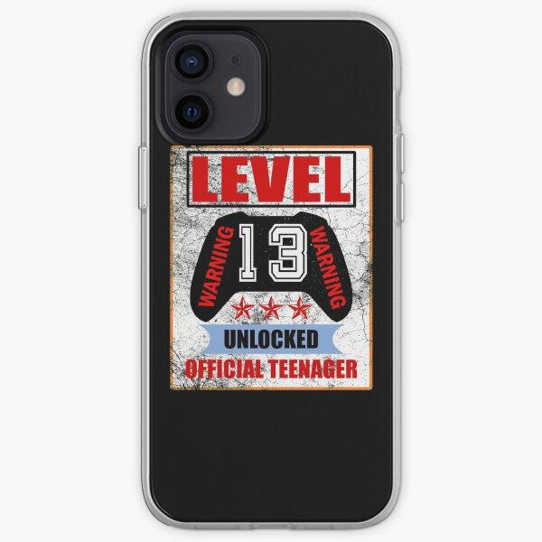 Level 13 unlocked Warning Offical teen iPhone Soft Case