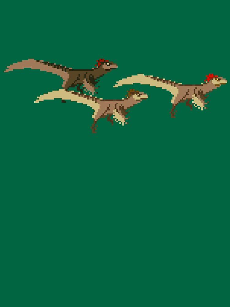 Utahraptor by Moppo