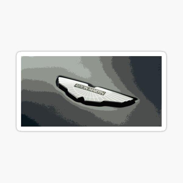 Aston Martin Badge Glossy Sticker