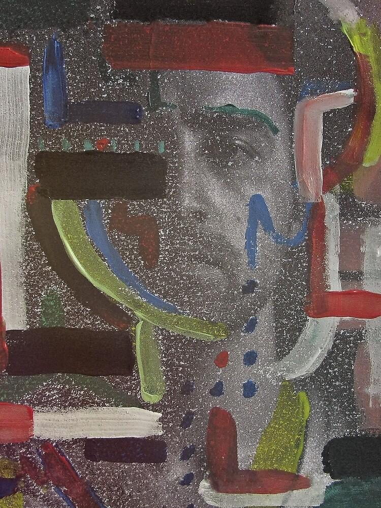 Dustin Ransom - Thread On Fire (Original Album Art) by dustinransom