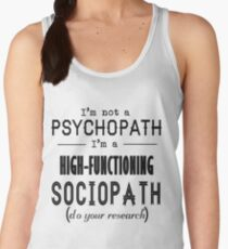 High-Functioning Sociopath Women's Tank Top