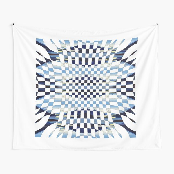 #Square #Multicolored  #Spiral #Rug, Symbol, Design, Illustration, sign, shape Tapestry