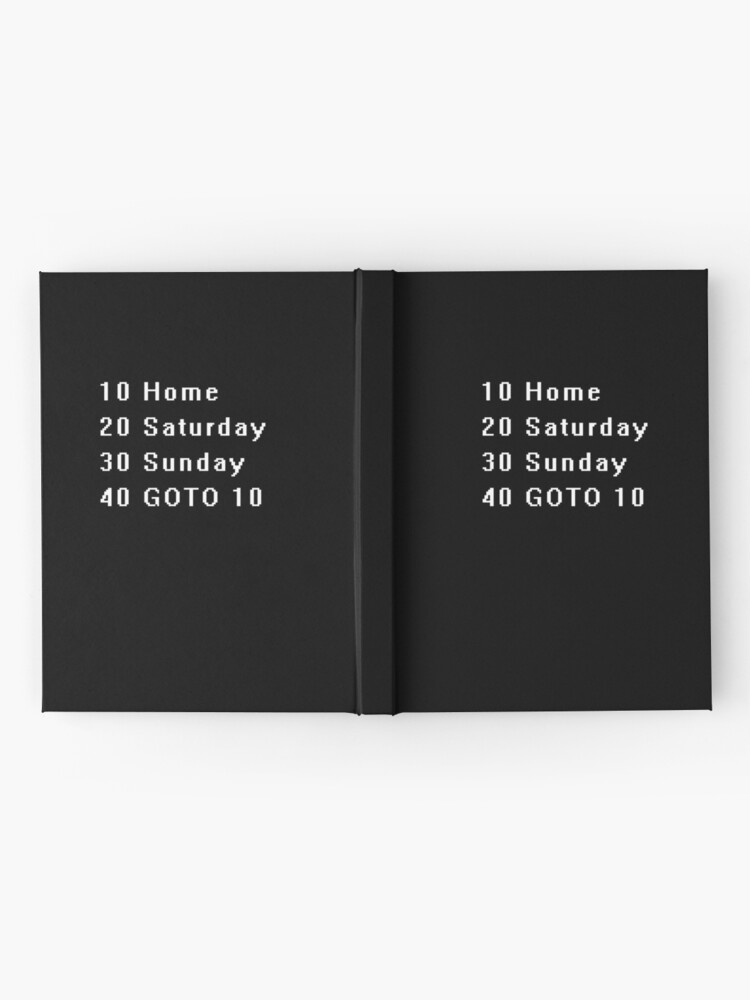 Alternate view of Computer, Basic, Weekend, GOTO Hardcover Journal