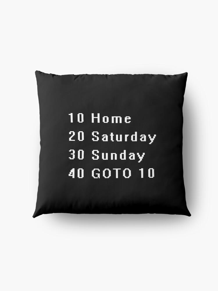 Alternate view of Computer, Basic, Weekend, GOTO Floor Pillow