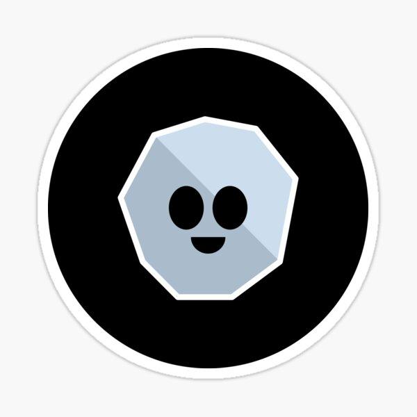 Happy Asteroid Sticker