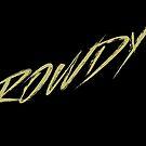 Rowdy (Khaki auf Schwarz) von Corpsecutter