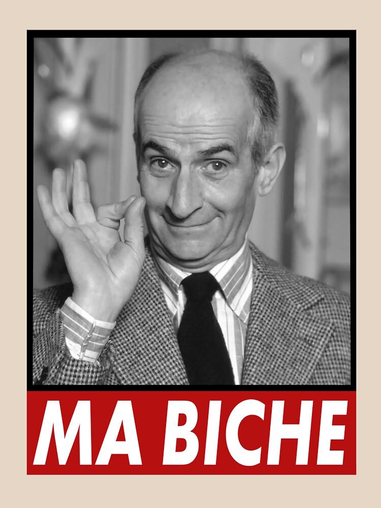 Louis de Funes Ma Biche Design by MaxSolaro