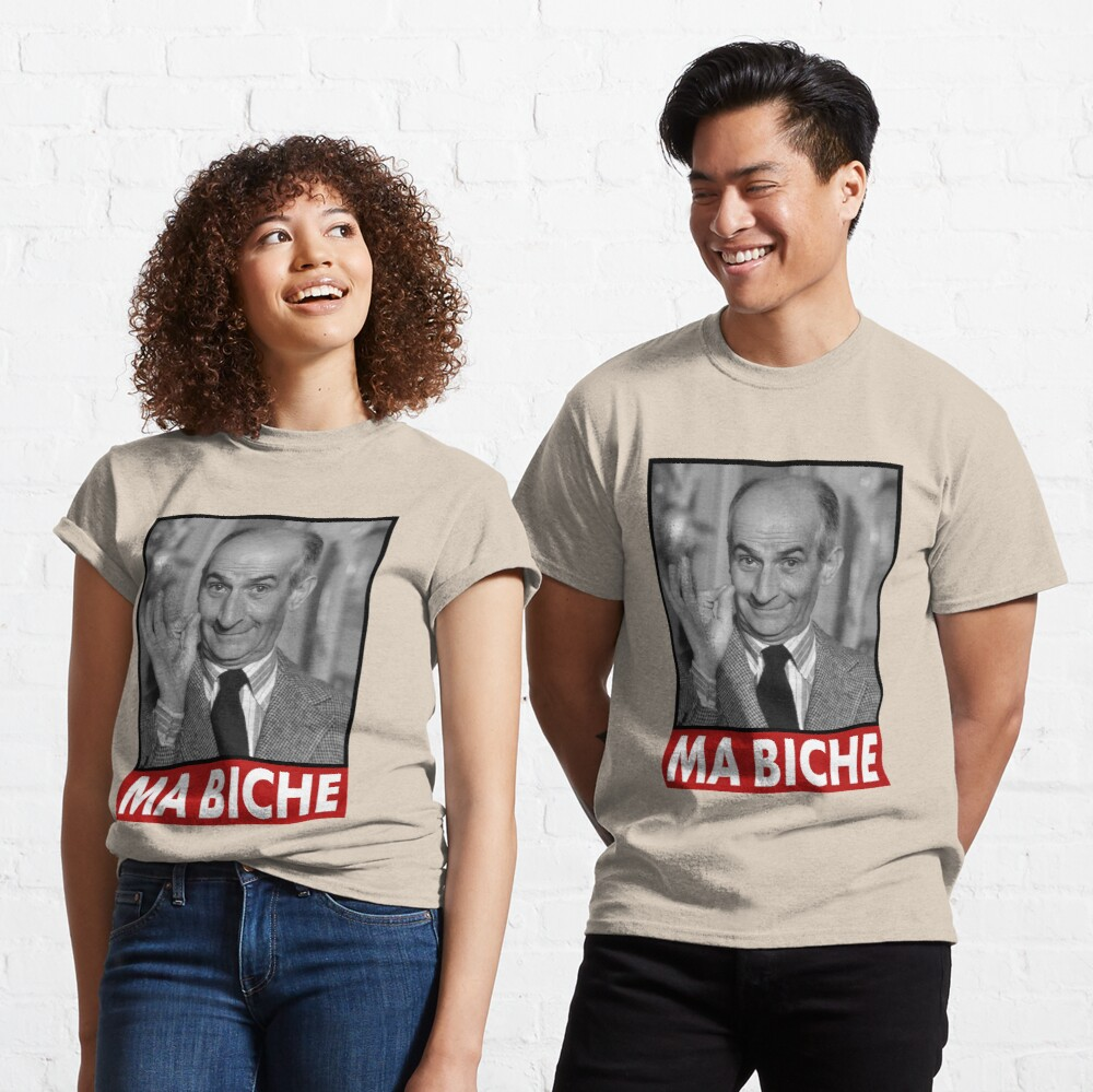 Louis de Funes Ma Biche Design Classic T-Shirt
