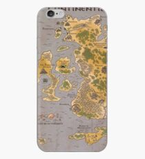 Continentia Mini Map iPhone Case