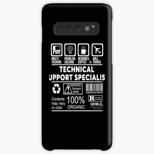 Technical Support Specialist Samsung Galaxy Snap Case