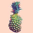 Glitchy Ananas von AnnArtshock