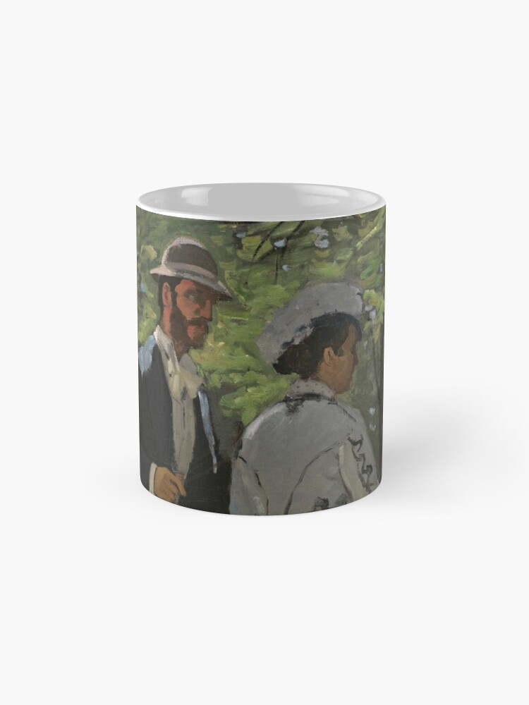 Alternate view of Bazille and Camille Painting by Claude Monet Mug