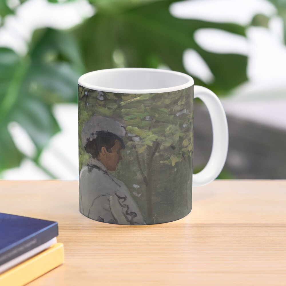 Bazille and Camille Painting by Claude Monet Mug