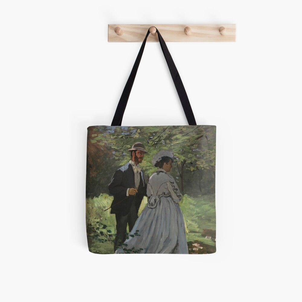 Bazille and Camille Painting by Claude Monet Tote Bag