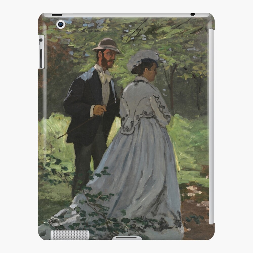 Bazille and Camille Painting by Claude Monet iPad Case & Skin