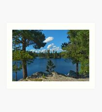 Stockade Lake Art Print