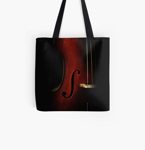 Cello All Over Print Tote Bag
