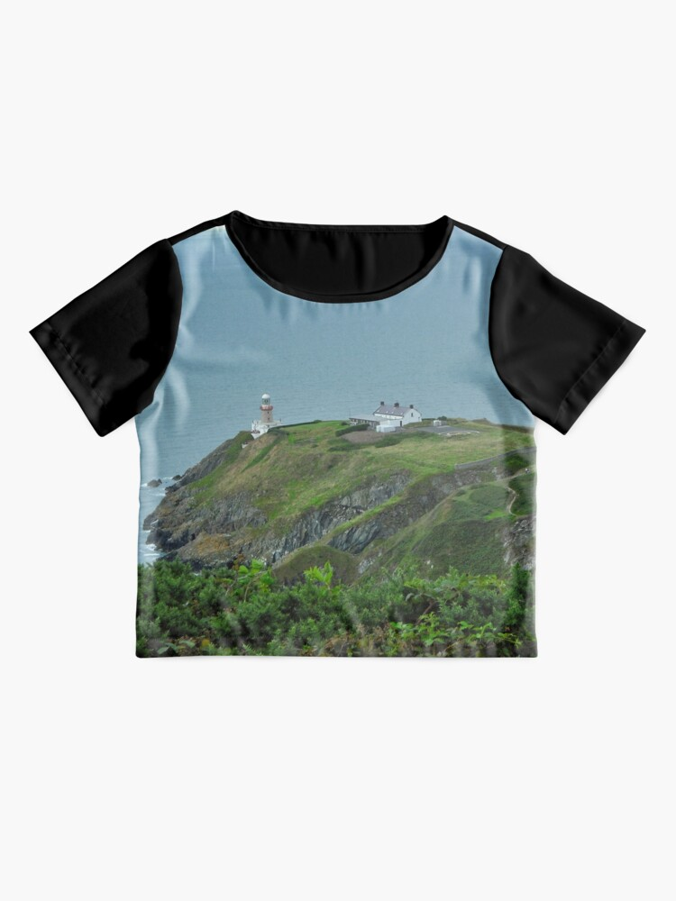 Alternate view of Howth Lighthouse - Ireland Chiffon Top