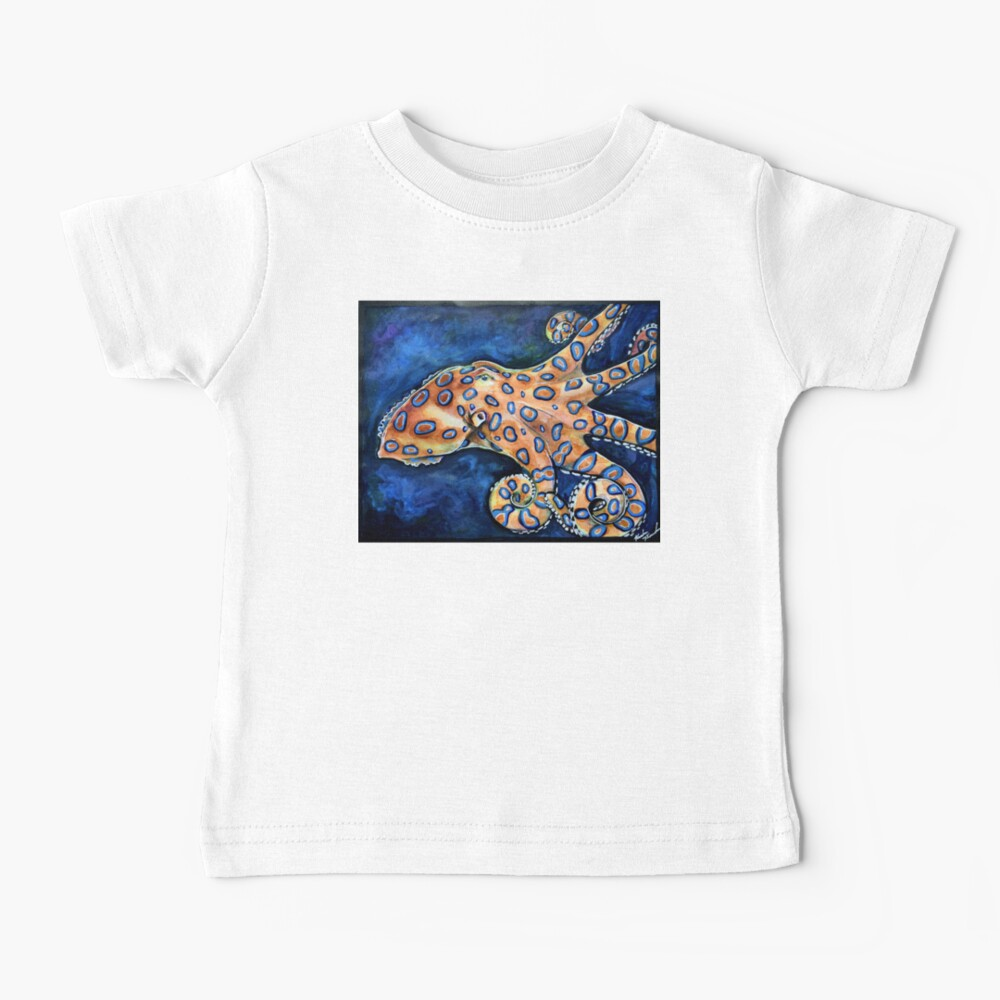 Blue Ringed Octopus Baby T-Shirt