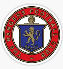 Glasgow Rangers Scottish football club Old Logo Sticker