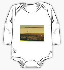 Hot Air Balloons at Twilight One Piece - Long Sleeve