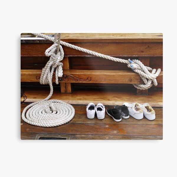SAIL Amsterdam - shoes (4) Metal Print