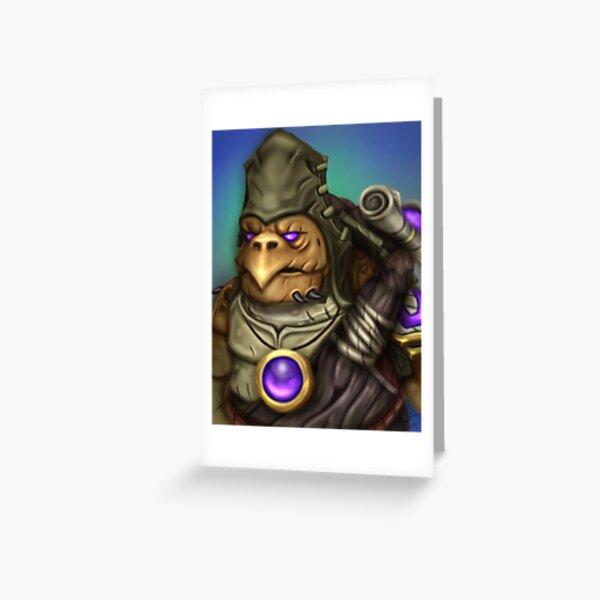 Tortollan Greeting Card