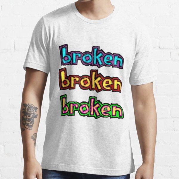 broken blind multi logos Essential T-Shirt