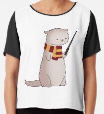 Harry Pawter Otter  Chiffon Top