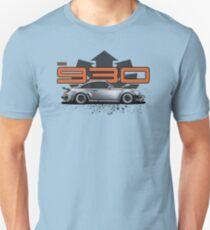 PORSCHE 930 TURBO Slim Fit T-Shirt