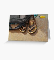 SAIL Amsterdam - shoes (6) Greeting Card