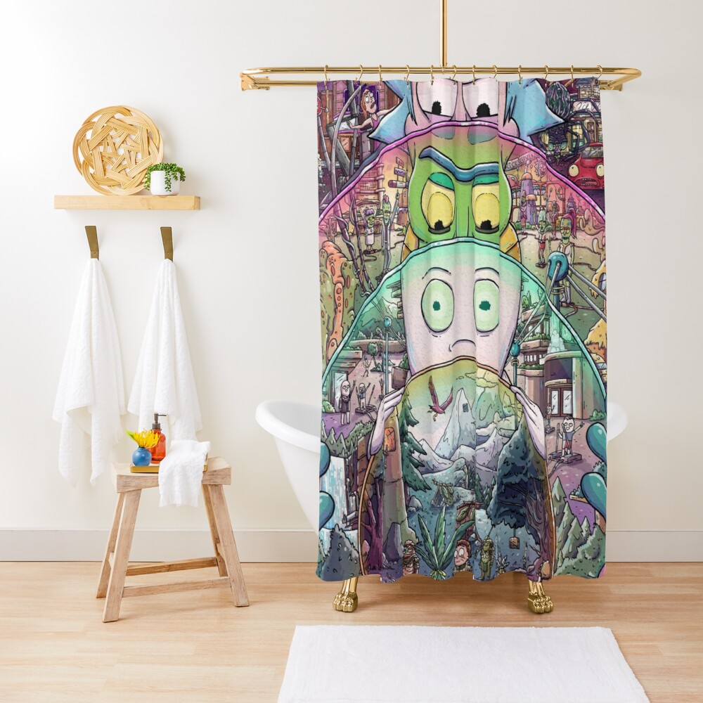 The Ricks Must Be Crazy Shower Curtain
