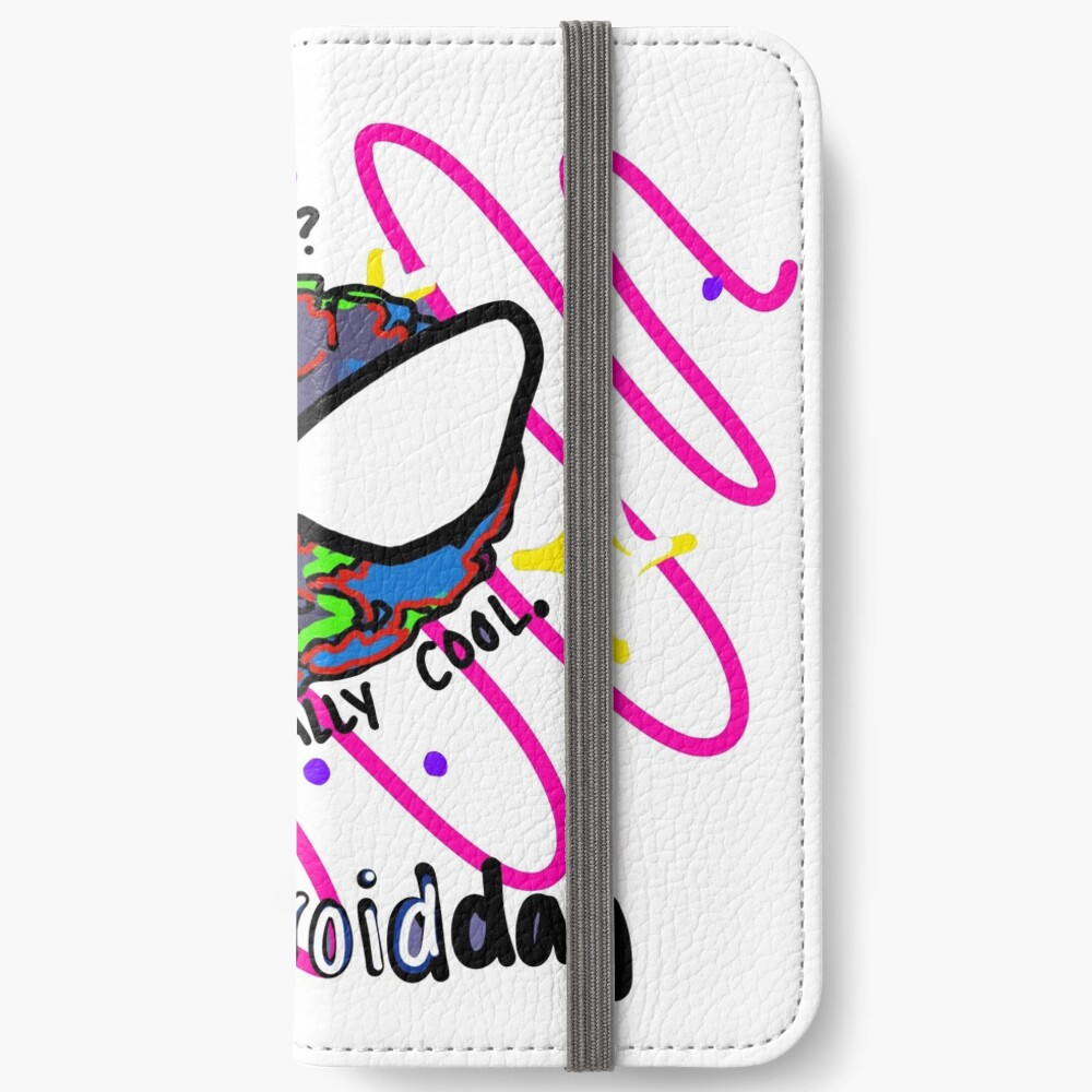 asteroids? astronomically cool.  iPhone Wallet
