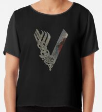 Vikings Chiffon Top