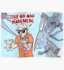 Margarita Man Poster